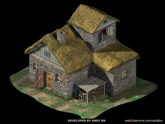 3d Gallery Game Sprites House